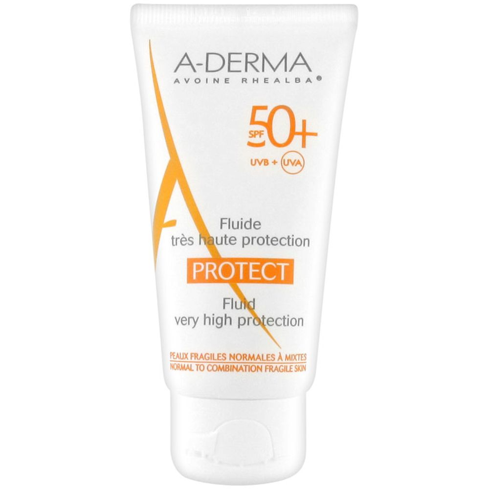 A-Derma - Fluide très haute protection Protect 50+ - 40 ml