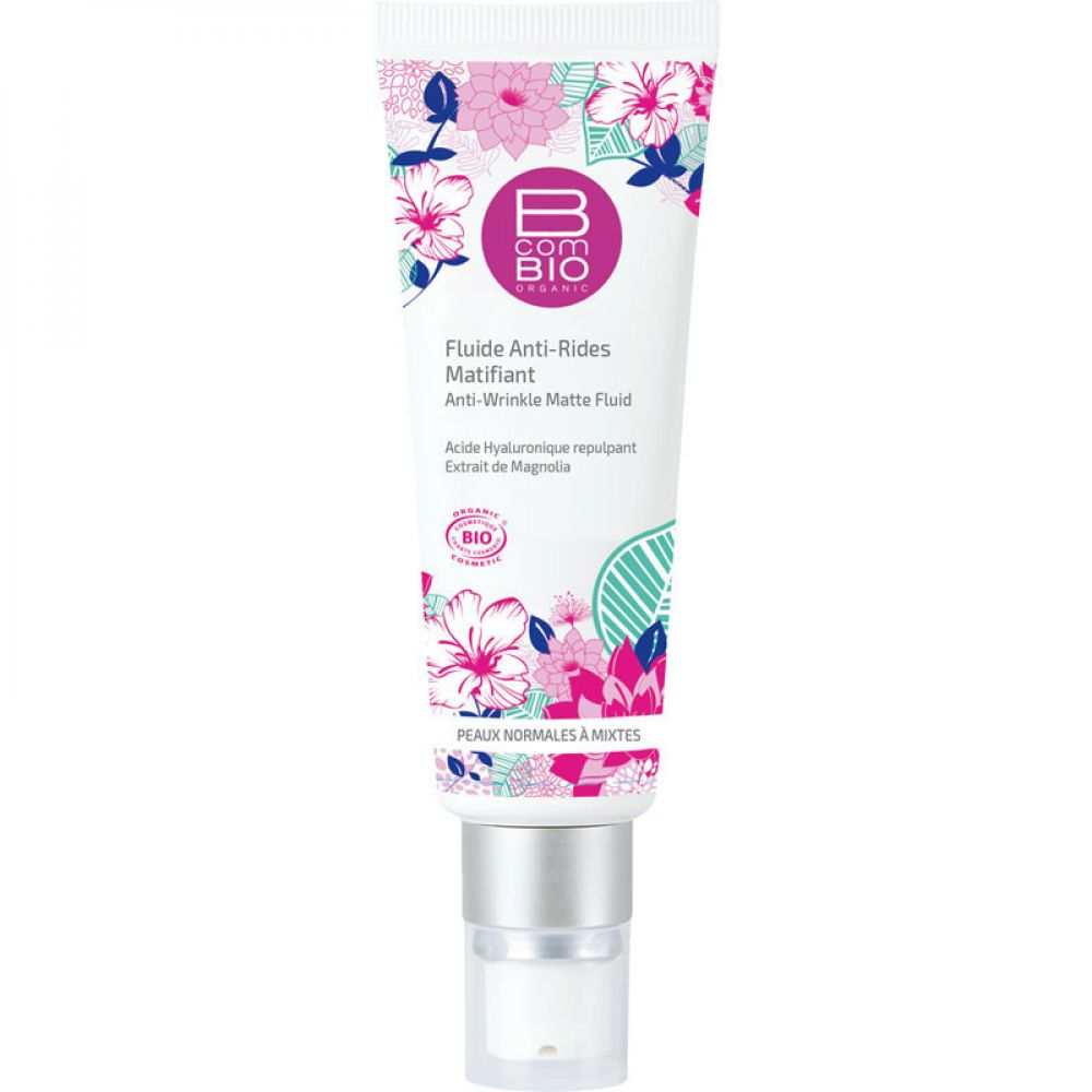 B com Bio - Fluide anti-rides matifiant - 50 ml