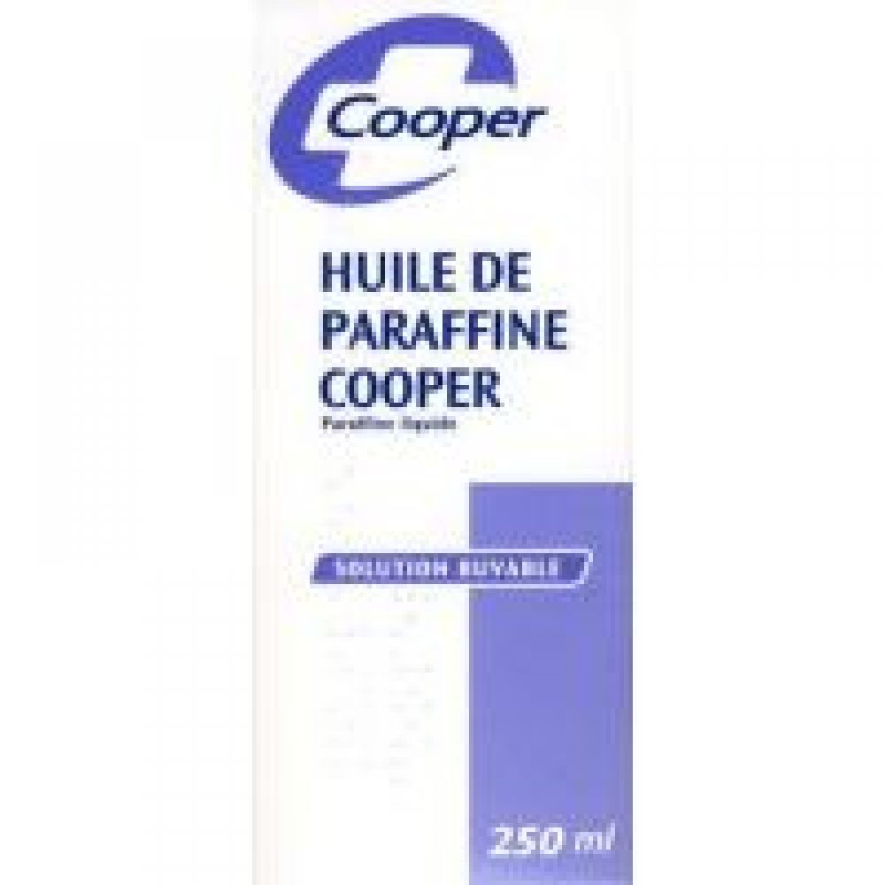Cooper - Huile de paraffine solution buvable - 250ml