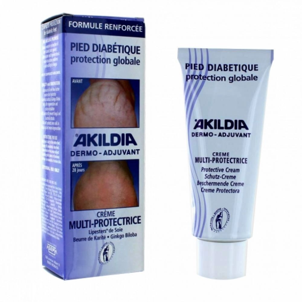 Akildia pied diabétique protection globale - 75 ml