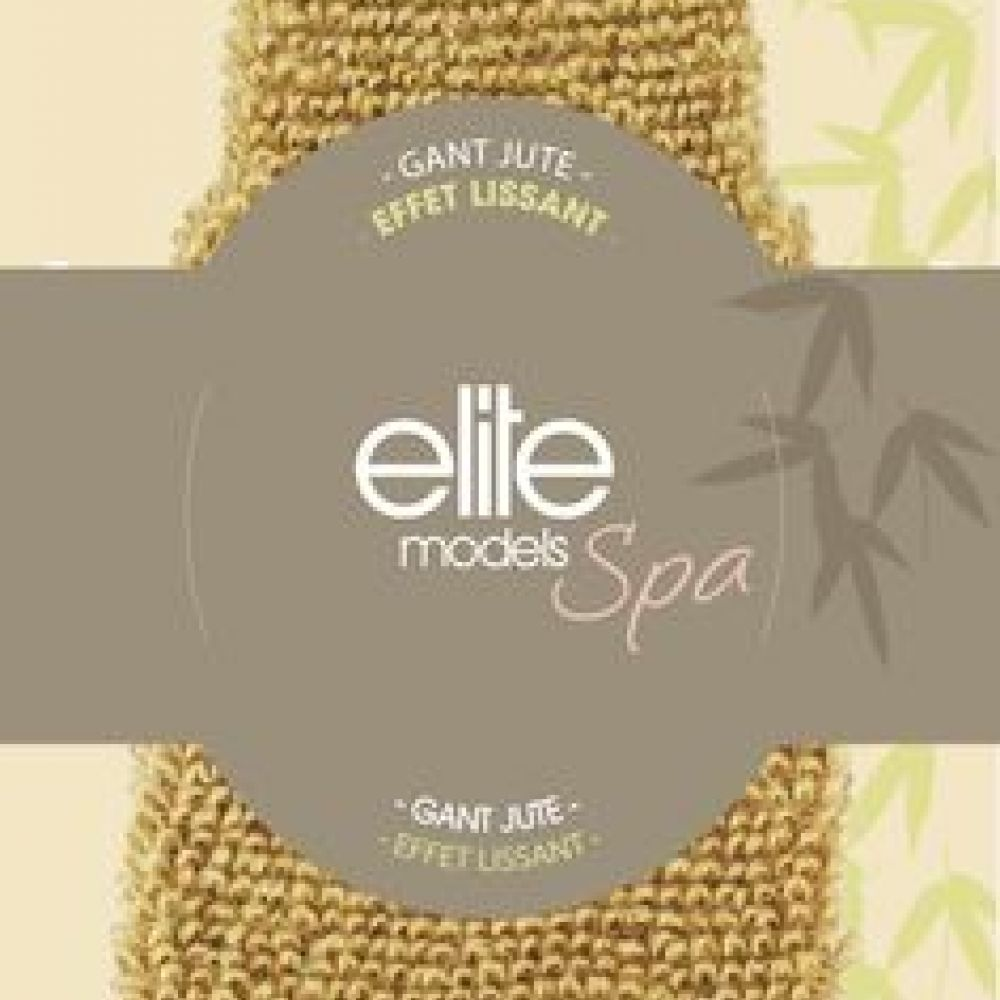 Elite gant de massage 100% Jute