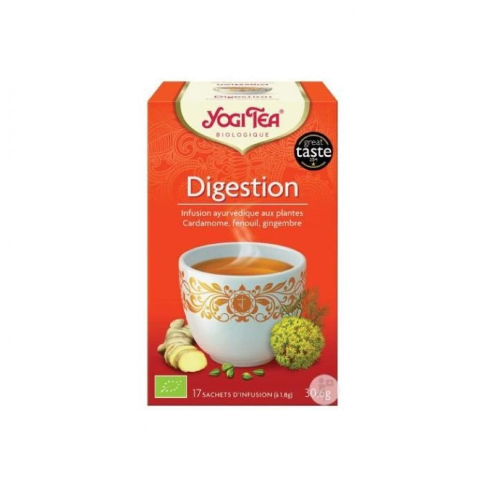 Yogi Tea - Digestion 17 sachets - 30.6g