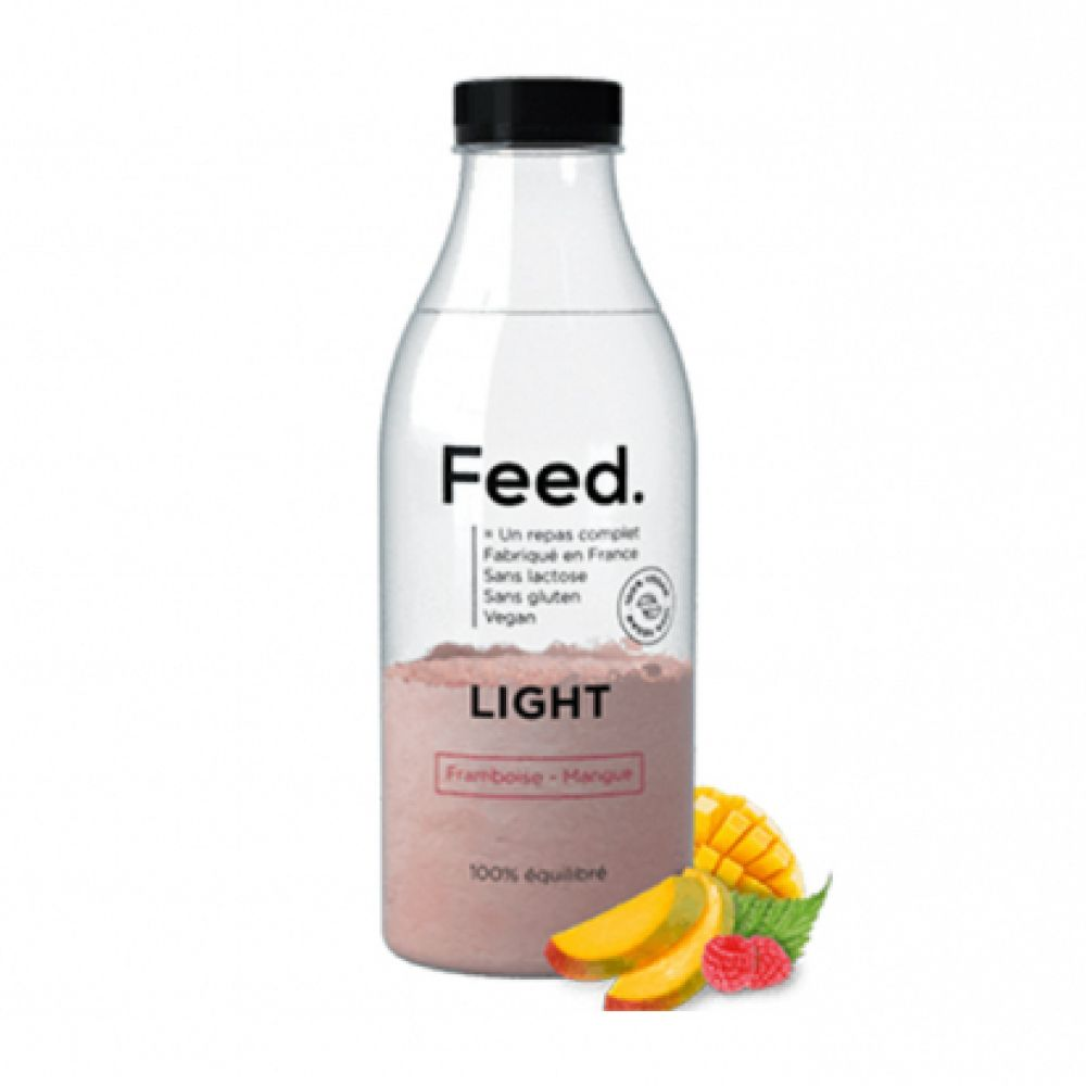 Feed - Bouteille repas complet light framboise mangue - 90 g