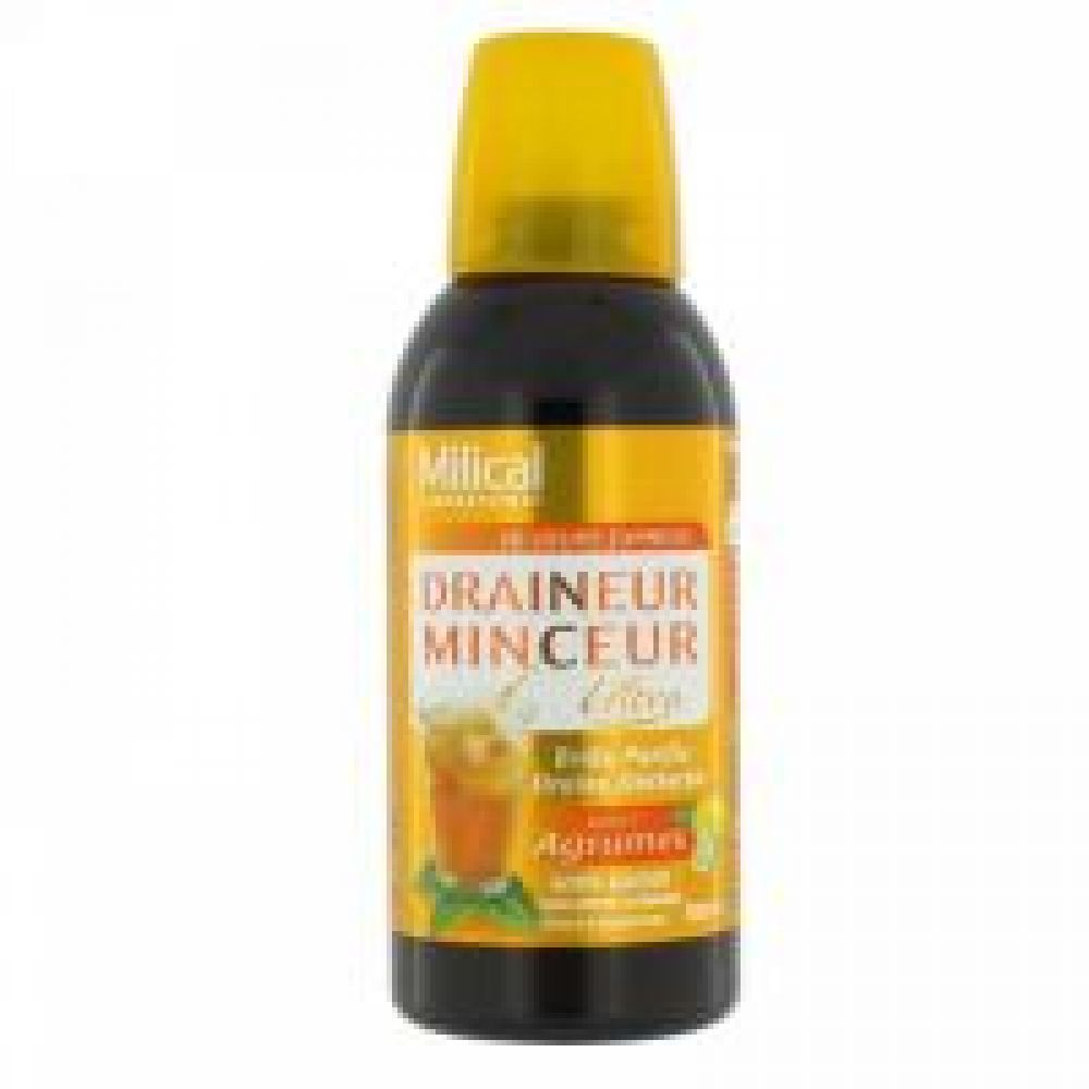 Milical - Draineur ultra gôut agrumes - 500 ml