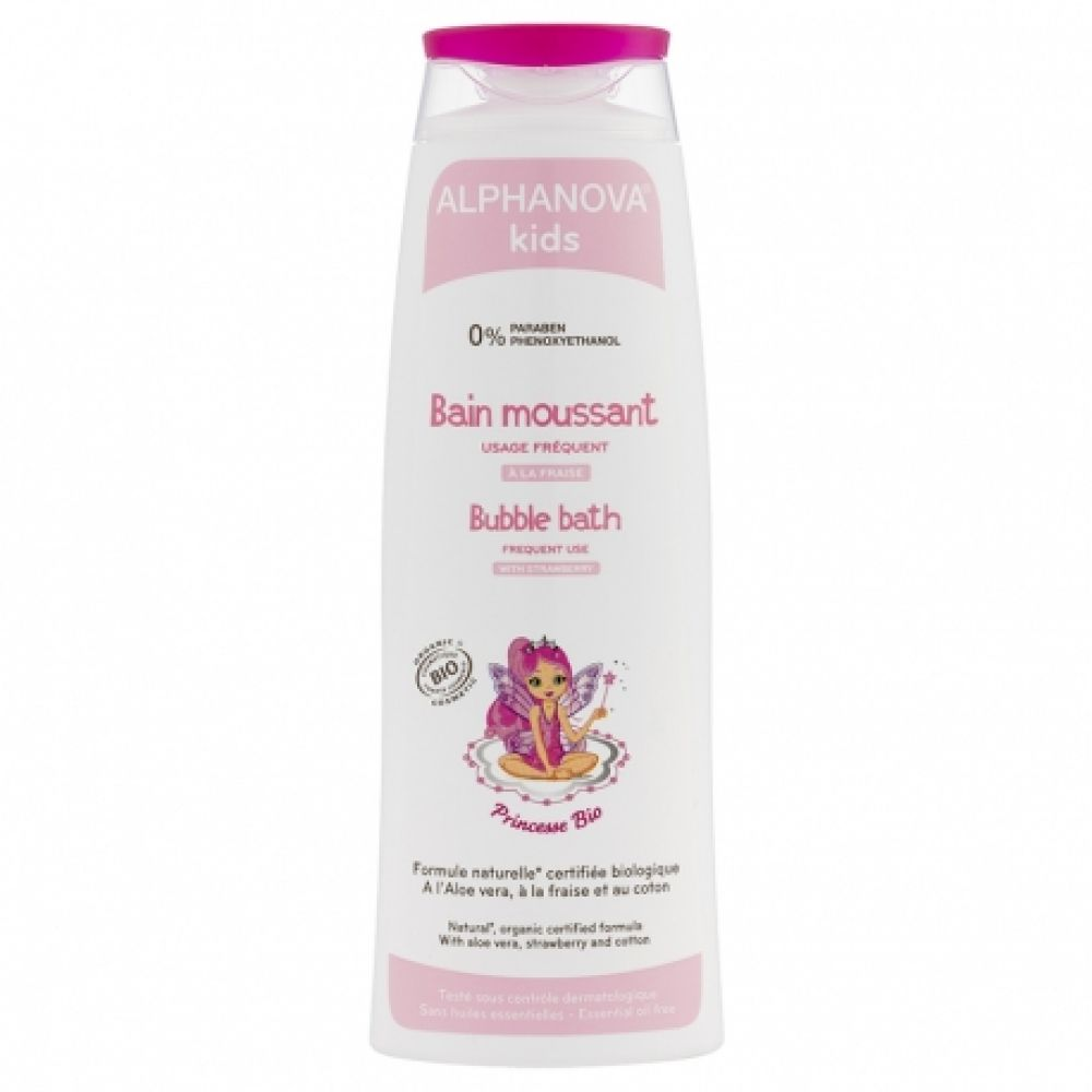 Alphanova Kids - Bain moussant princesse - 250 ml