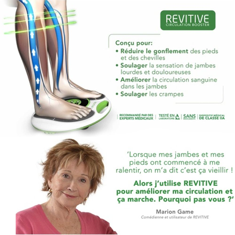 Revitive IX stimulateur circulatoire