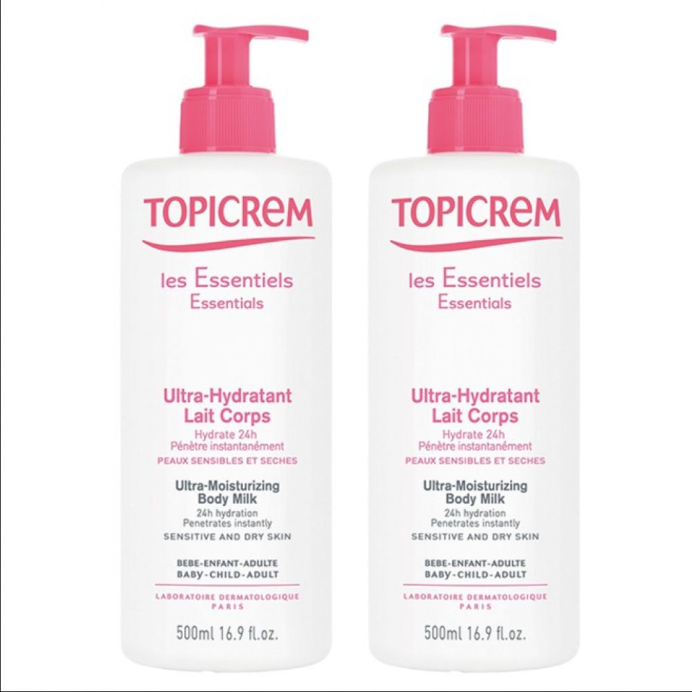 Topicrem - Ultra-hydratant lait corps