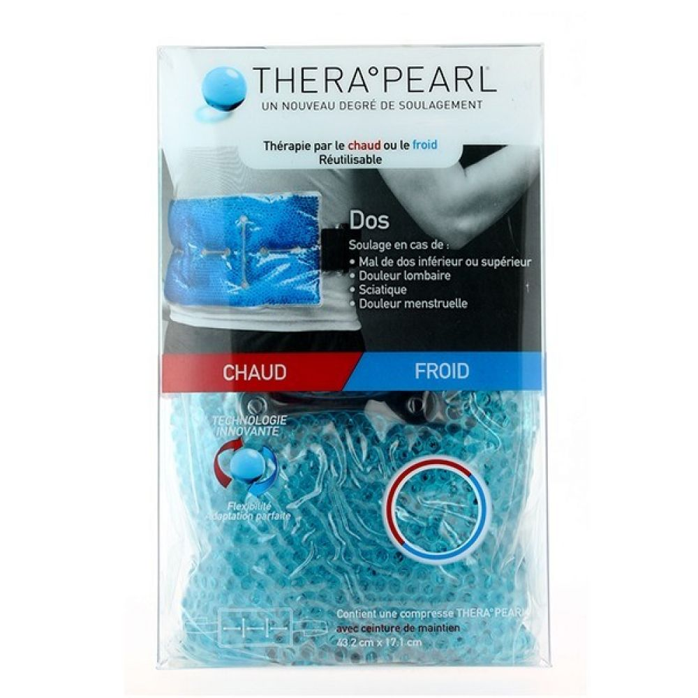 Therapearl - compresse chaud froid réutilisable dos