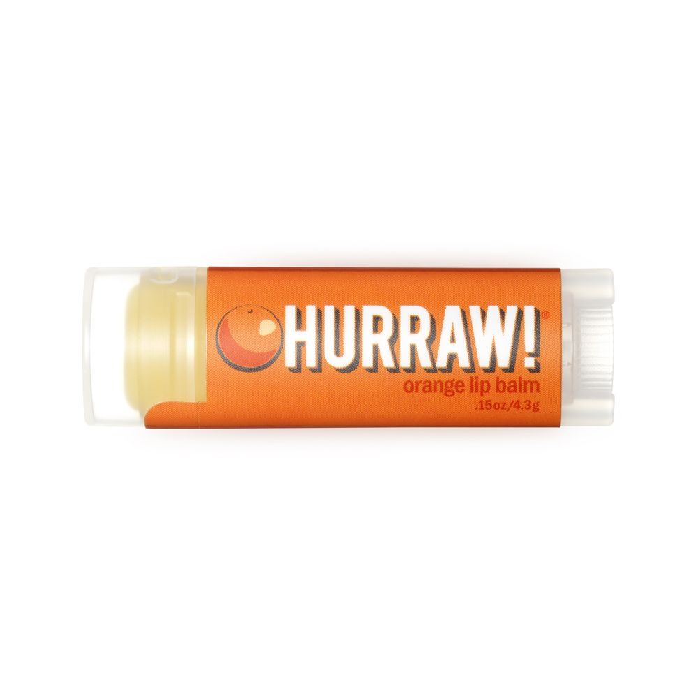 Hurraw! - Baume à lèvres orange - 4.8 g