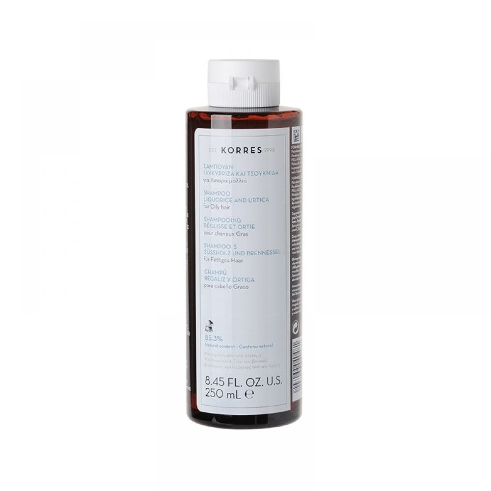 Korres - Shampooing cheveux gras - 250 ml