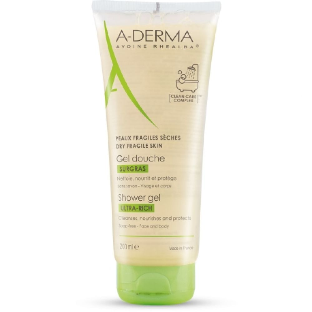 Aderma - Gel douche surgras - 200 ml