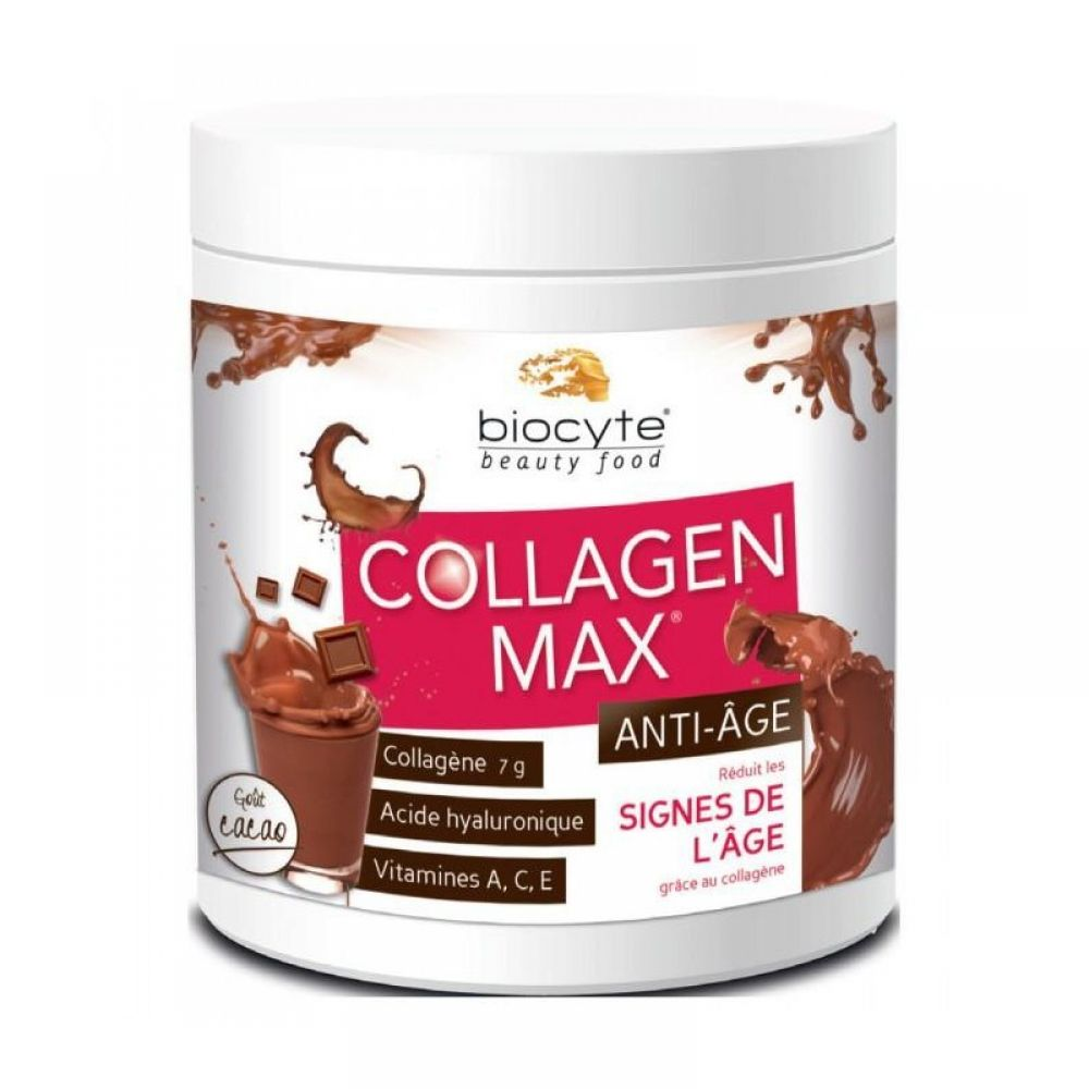 Biocyte - Collagen max anti-âge cacao - 260 g