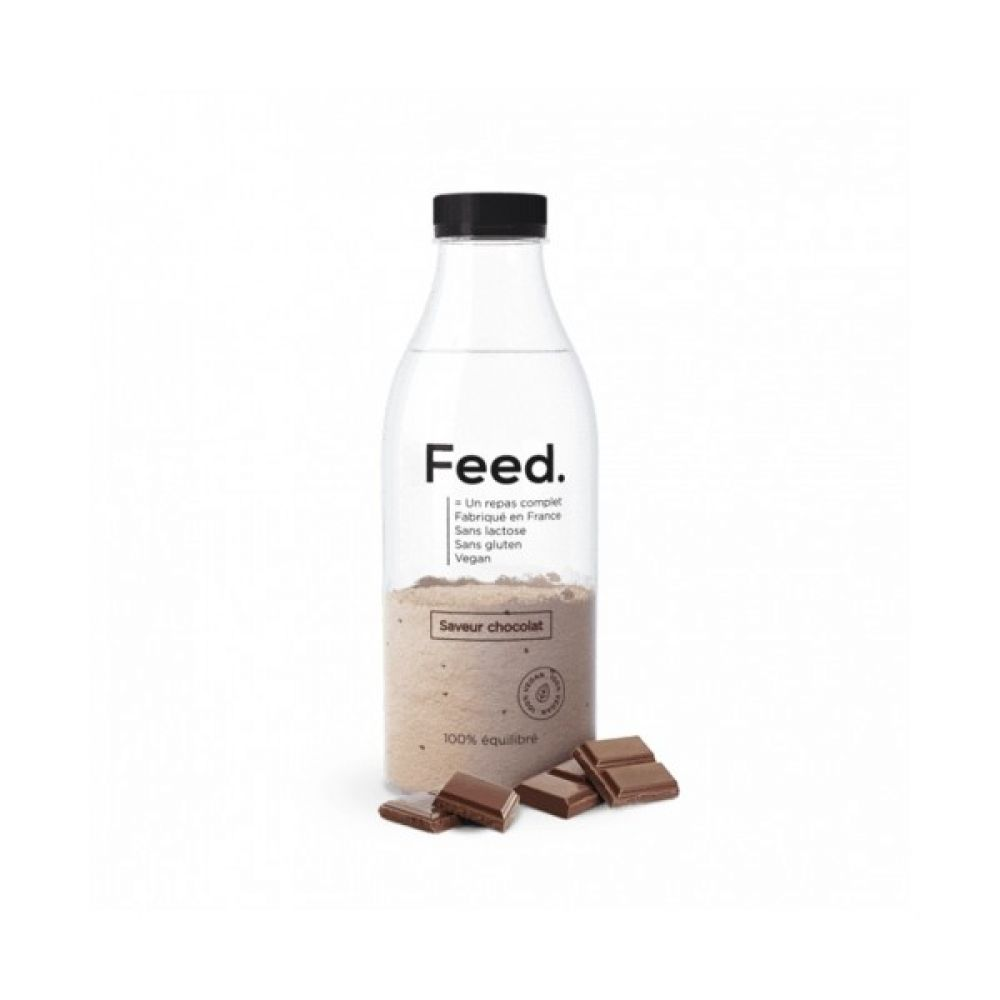 Feed - Bouteille repas complet chocolat - 150 g