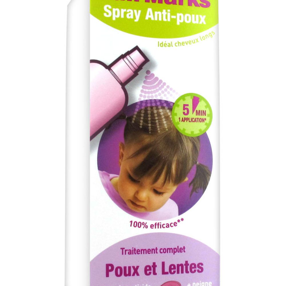 Full Marks - Spray anti-poux + peigne - 150ml