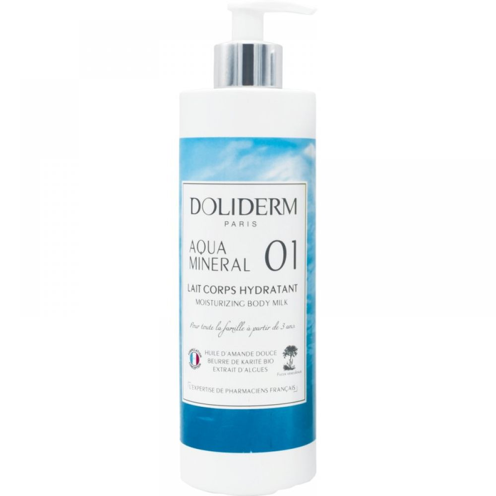 Doliderm - Lait corps hydratant aqua mineral - 400 ml