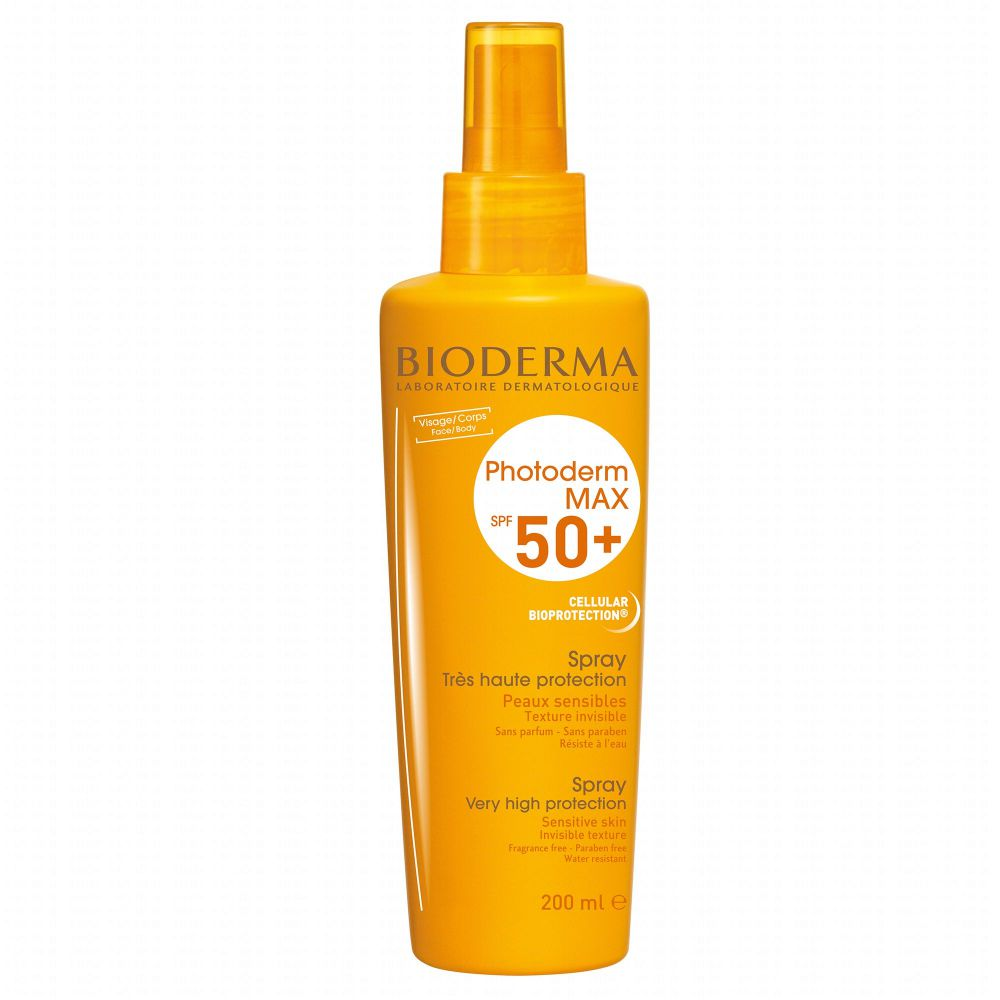 Bioderma - Spray solaire photoderm max spf 50+ - 200ml