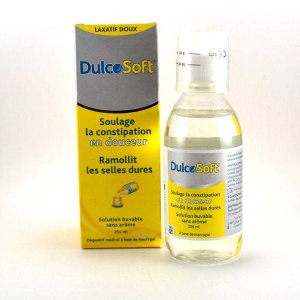 Dulcosoft constipation solution buvable - 250ml