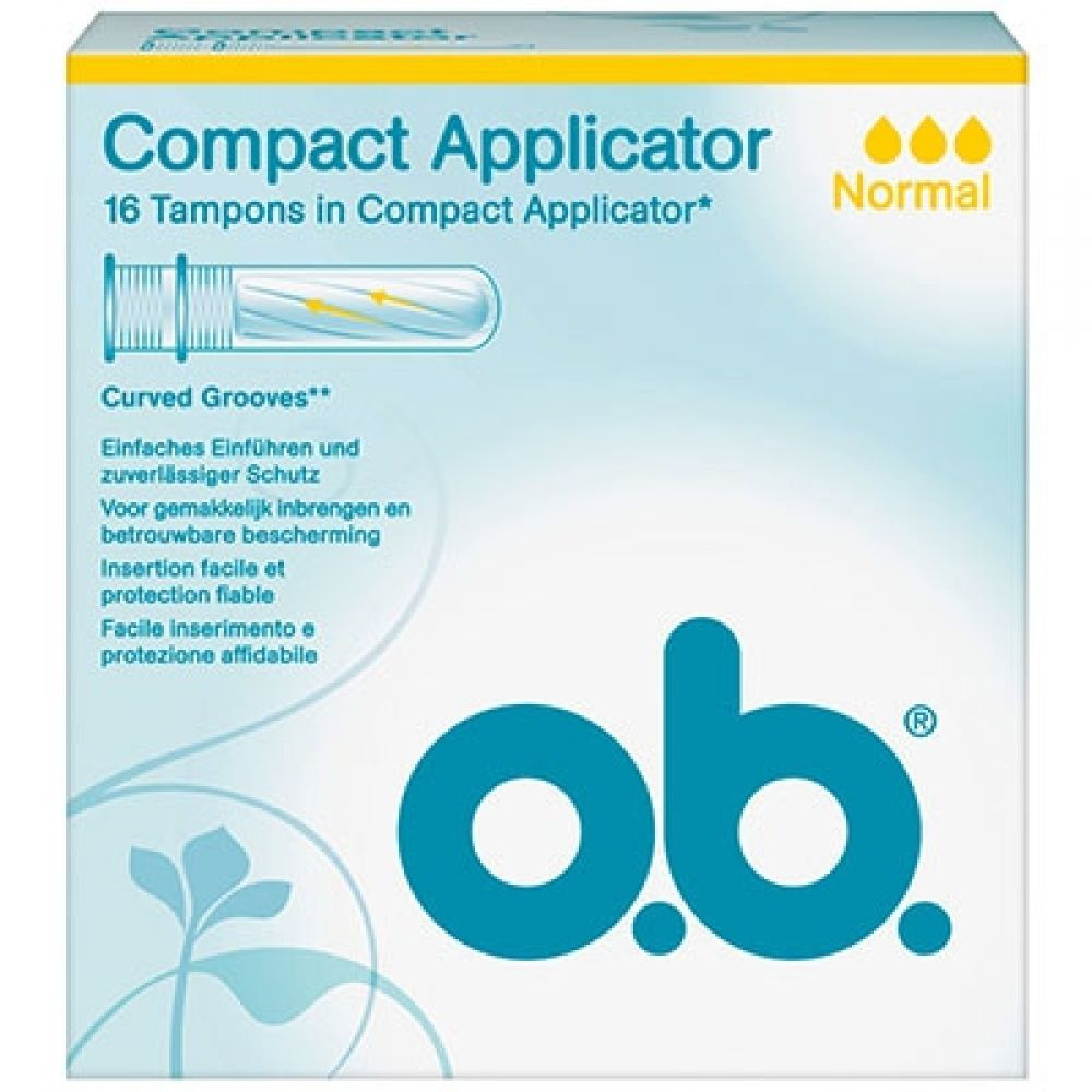 Compact Applicator - 16 tampons