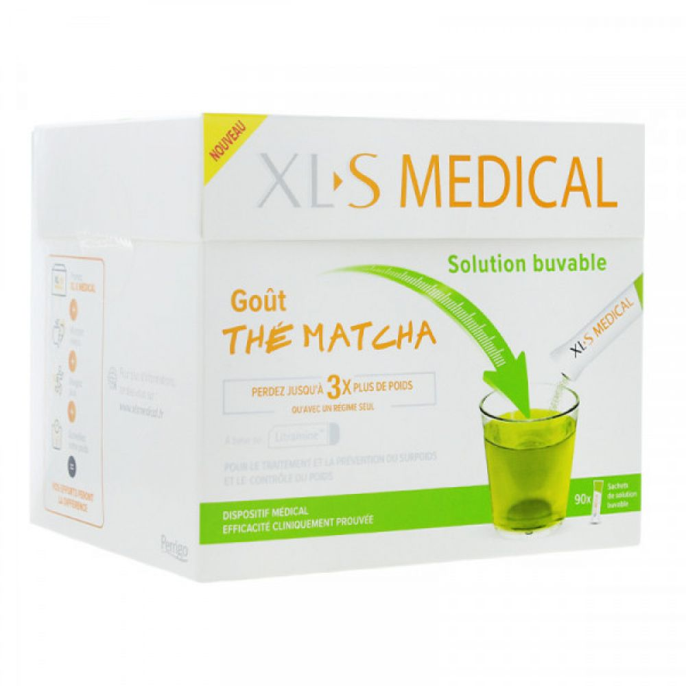 XL-S Medical solution buvable thé matcha - 90 sachets