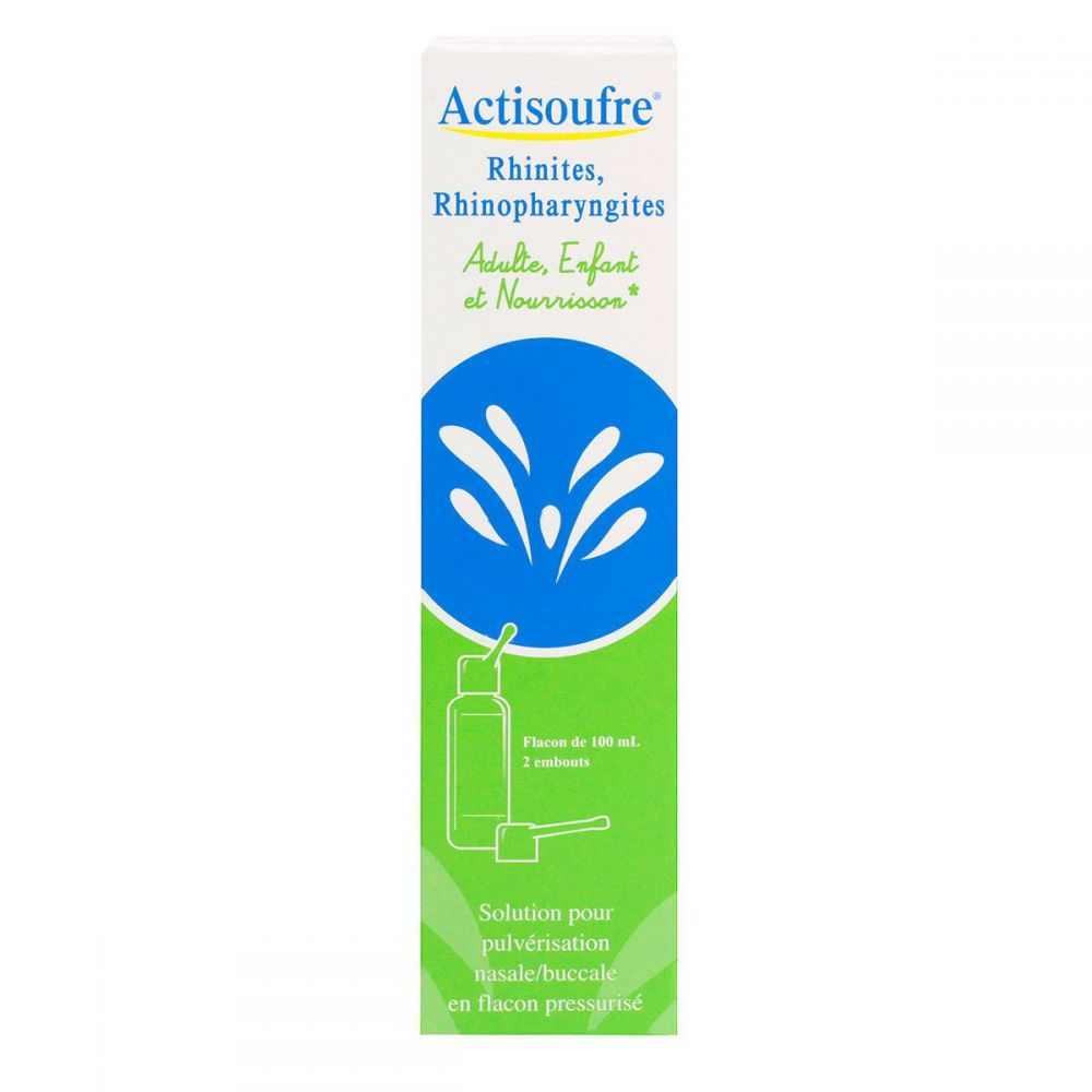 Actisoufre Spray nasal/buccal -100ml