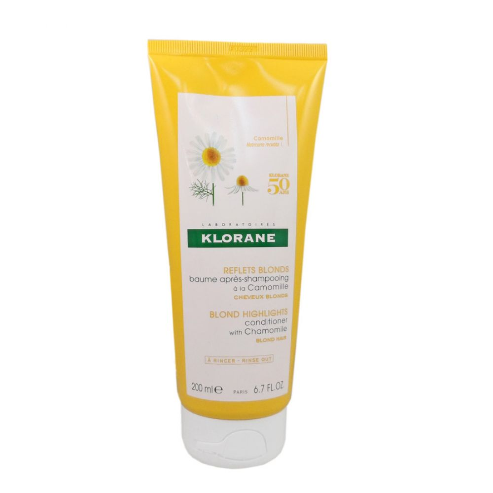 Klorane - Reflets blonds baume après-shampooing camomille - 200 ml