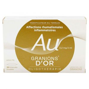Granions d'Or - 30 ampoules