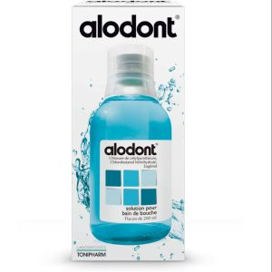 Alodont solution bain de bouche