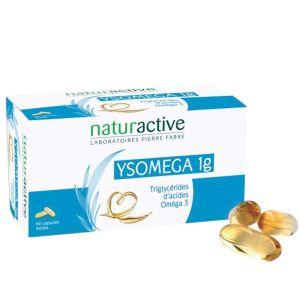 Naturactive Ysomega 1 g - 60 capsules