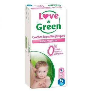 Love & Green - Couche Taille 5 - 40 couches