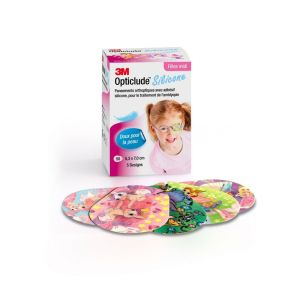 Opticlude silicone fille - 50 unités