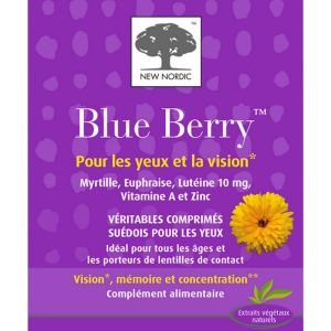 New Nordic -Blue Berry - 120 comprimés
