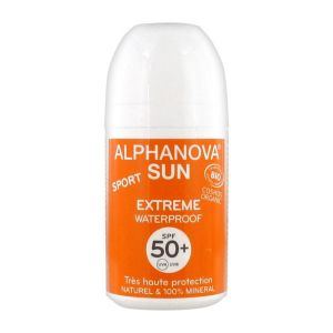 Alphanova Sun - Roll on sport extrême SPF 50+ - 50 g