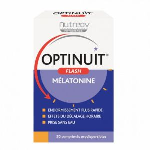 Optinuit - Flash Mélatonine - 30 comprimés orodispersibles