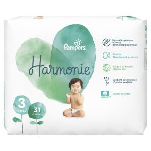 Pampers - Harmonie couches taille 3 - 6 à 10 kg