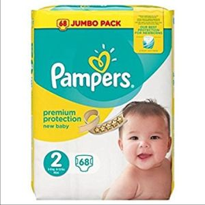Pampers - Premium protection - 68 couches