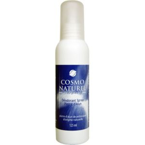Cosmo Naturel Corporel - Déodorant Spray pierre d'Alun - 125ml