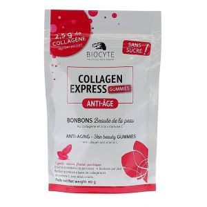 Biocyte - Collagen express gummies anti-âge  - 80 g