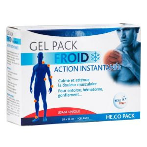 HECO Pack - gel pack froid action instantanée