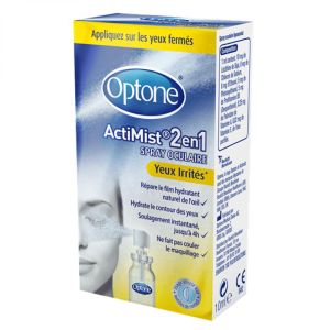 Optone - ActiMist 2en1 - Spray oculaire - 10ml