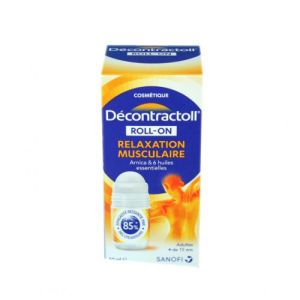 Décontractoll roll-on Relaxation musculaire - 50ml