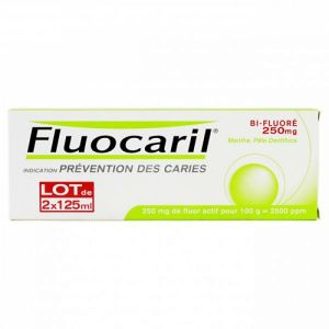 Fluocaril Bi-fluoré - lot de 2