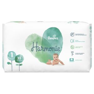 Pampers - Harmonie couches taille 1 - 2 à 5 kg