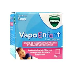 Vicks - Vapo enfant baume de massage - 50 g