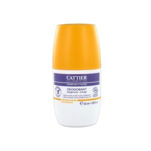 Cattier - Déodorant bergamote / orange - 50 ml