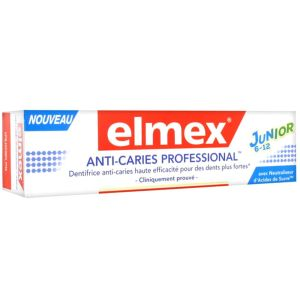 Elmex - Dentifrice anti-caries professional 6-12 ans