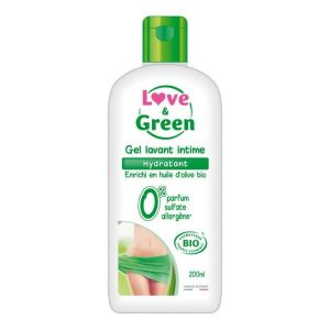 Love & Green - Gel lavant intime hydratant - 200 ml