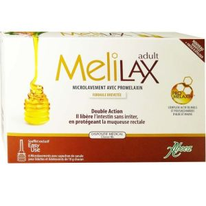 Aboca - Melilax adulte - 6 microlavements