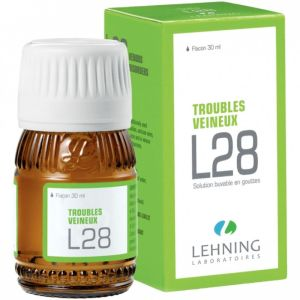 L28 - Troubles veineux - 30ml