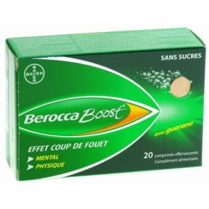 Bayer - Berocca Boost - 20 comprimés effervescents