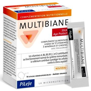 Pileje - Multibiane Age Protect - 14 sticks